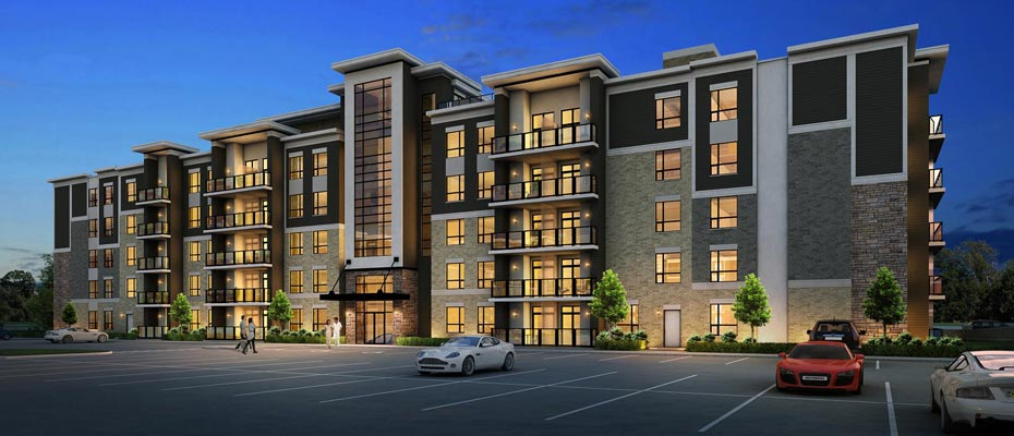 Origin Condominiums at 640-650 Sauve Street in Milton